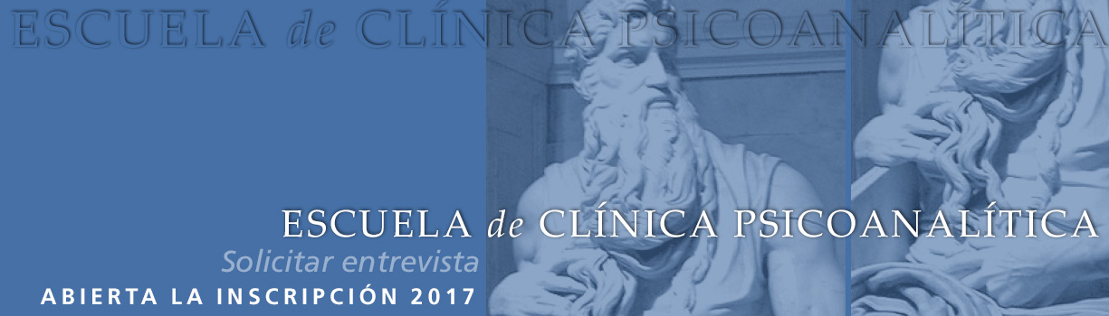 ESCUELA DE CLÍNICA PSICOANALÍTICA