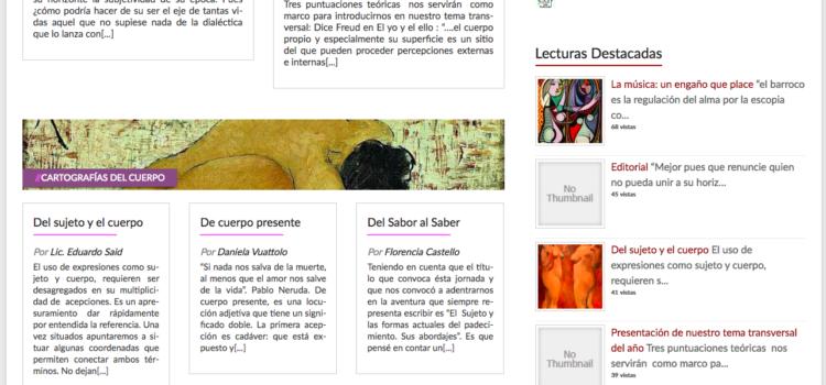 Nueva revista digital Entrelíneas