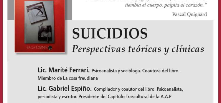 F'ORO de Clínica Psicoanalítica: «Suicidios. Perspectivas teóricas y clínicas»