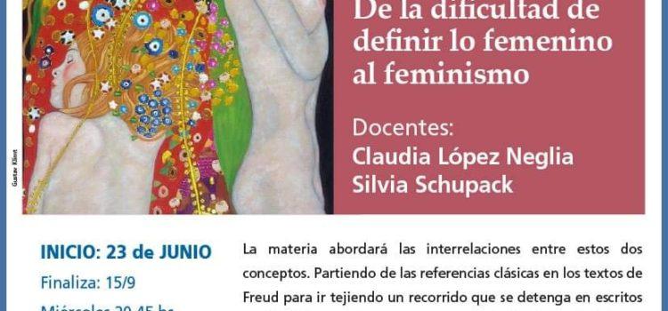 Histeria, Femineidad y Feminismo. De la dificultad de definir lo femenino al feminismo